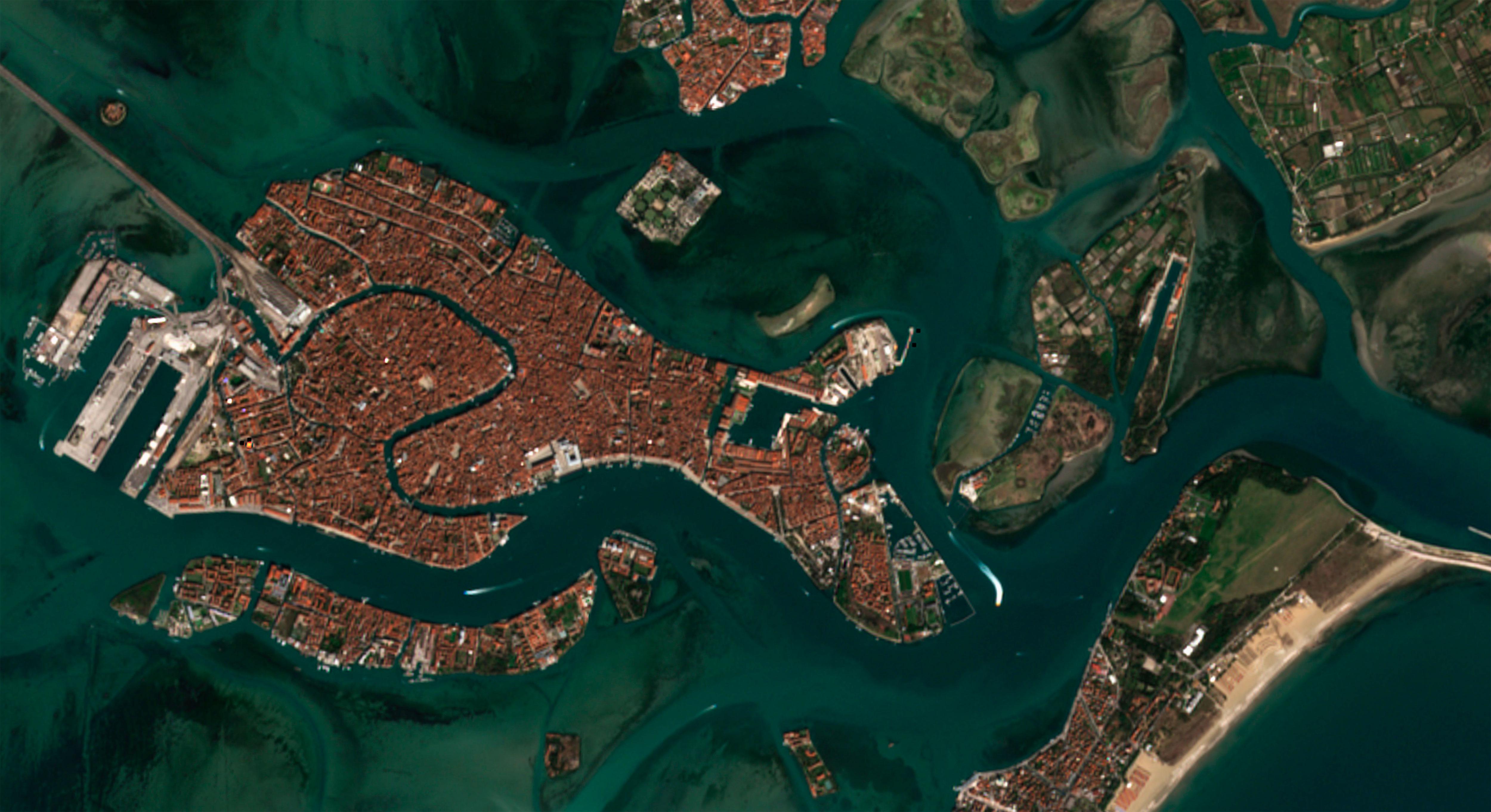 Venezia aislada por coronavirus covid-19